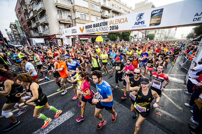 Marathon y media marathon Valencia